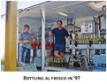 Bottling Al fresco in 1997