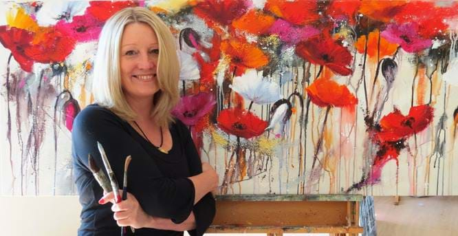 Paint amongst the vines with Helen Cottle