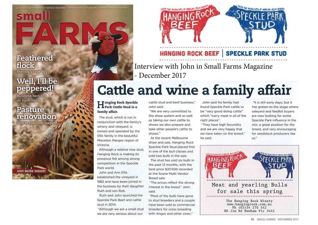 Small Farms Mag 1217